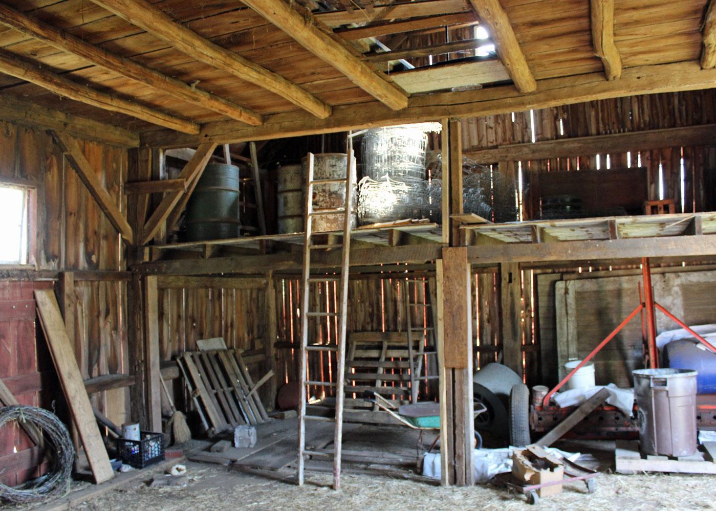 Meetinghouse Hill Barn Inside