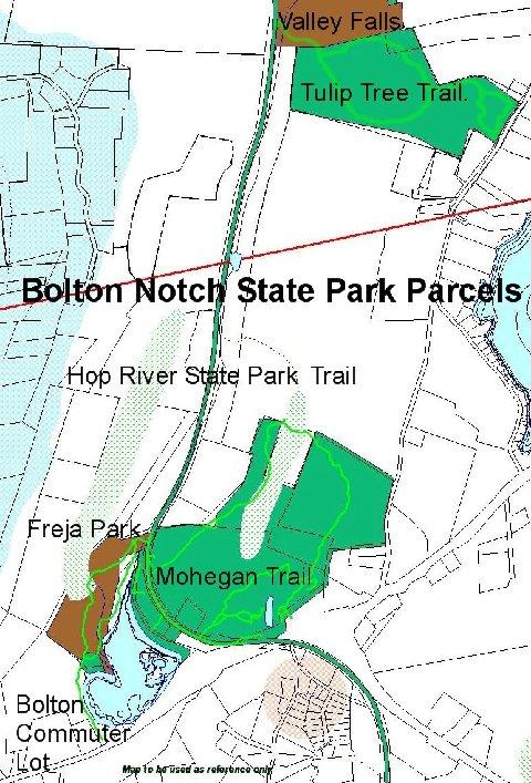 Tulip Tree Trail Map